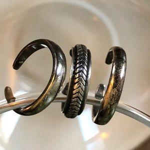 Silpada set of 3 toe rings O0652